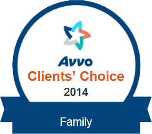 Avvo Rating Clients Choice 2014 - Family