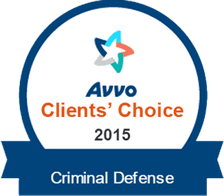 Avvo Client's Choice 2015 - Criminal Defense