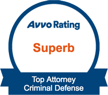 Avvo Superb Rating Top Attorney - Criminal Defense